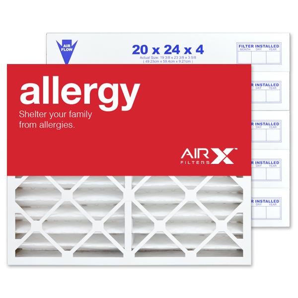 20x24x4 AIRx ALLERGY Air Filter - MERV 11