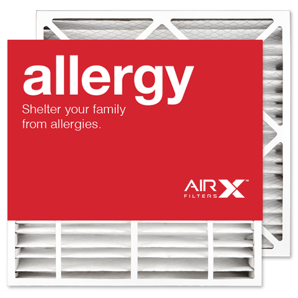 24x25x4 AIRx ALLERGY Carrier FILXXCAR0024 Replacement Air Filter - MERV 11