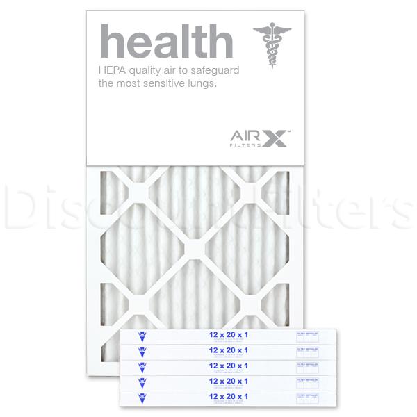 12x20x1 AIRx HEALTH Air Filter - MERV 13