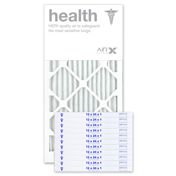 12x24x1 AIRx HEALTH Air Filter - MERV 13