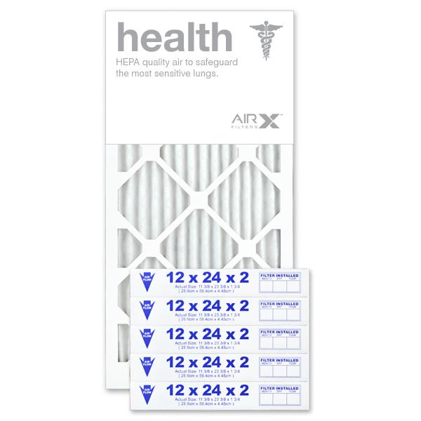 12x24x2 AIRx HEALTH Air Filter - MERV 13