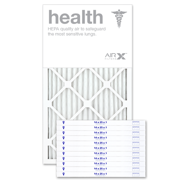 14x25x1 AIRx HEALTH Air Filter - MERV 13