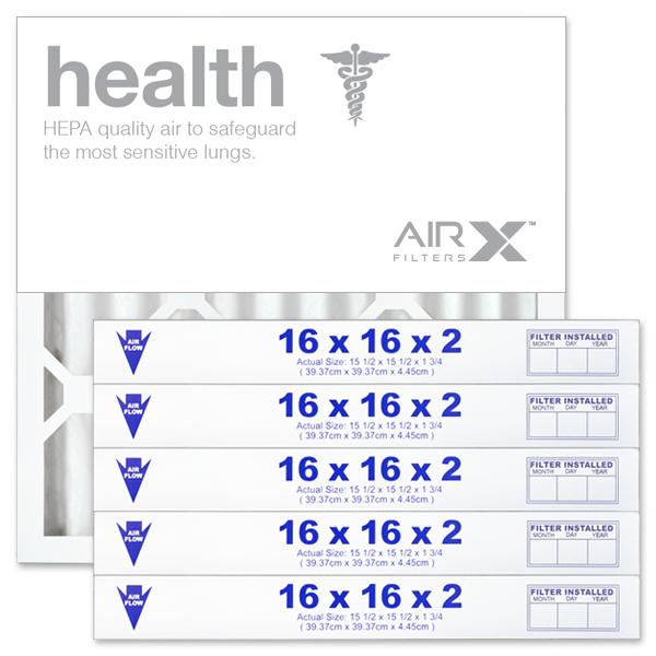 16x16x2 AIRx HEALTH Air Filter - MERV 13