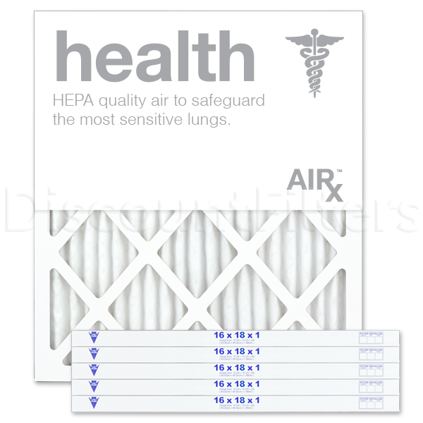 "16"" X 18"" X 1"" MERV 13 Pleated Filter- Healthy Living"