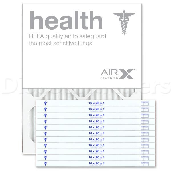 16x20x1 AIRx HEALTH Air Filter - MERV 13
