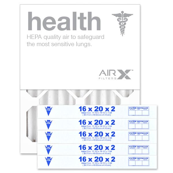 16x20x2 AIRx HEALTH Air Filter - MERV 13