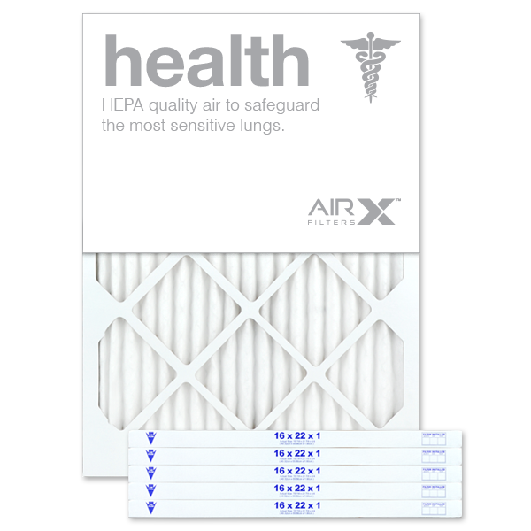 16x22x1 AIRx HEALTH Air Filter - MERV 13