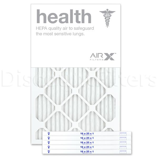 16x25x1 AIRx HEALTH Air Filter - MERV 13