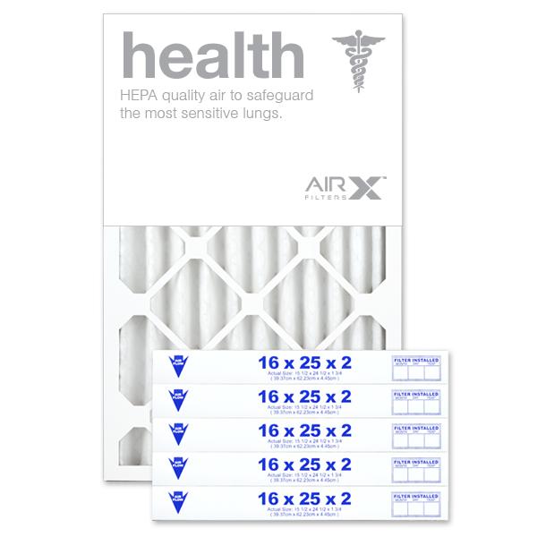 16x25x2 AIRx HEALTH Air Filter - MERV 13