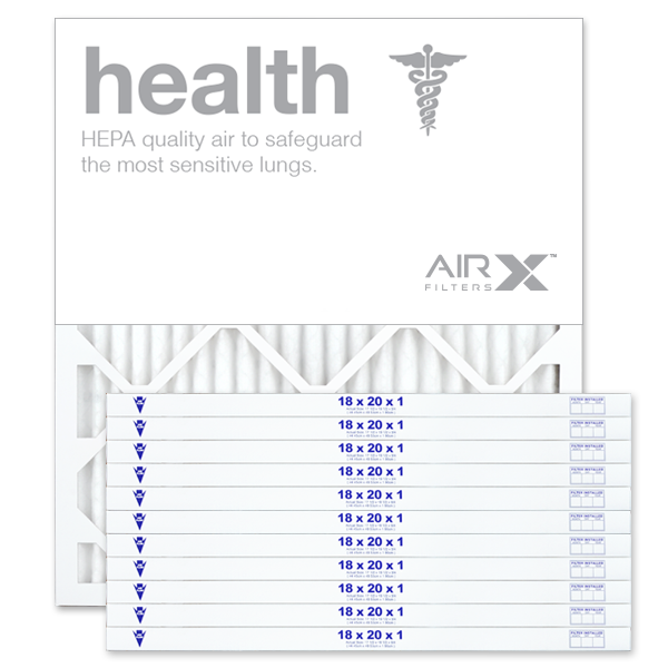 18x20x1 AIRx HEALTH Air Filter - MERV 13