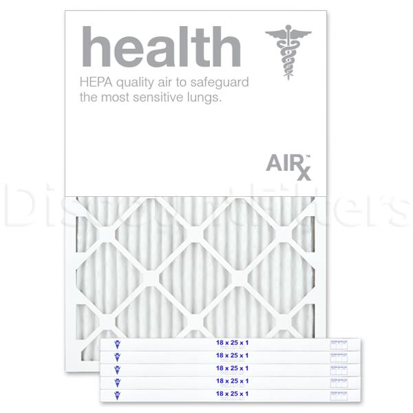 "18"" X 25"" X 1"" MERV 13 Pleated Filter- Healthy Living"