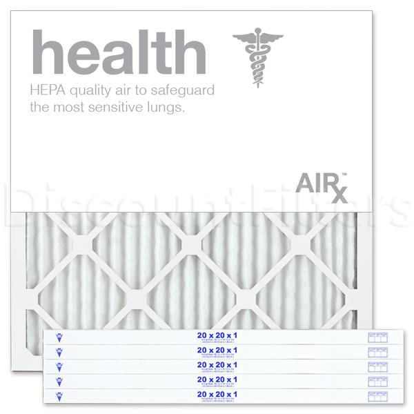 "20"" X 20"" X 1"" MERV 13 Pleated Filter- Healthy Living"