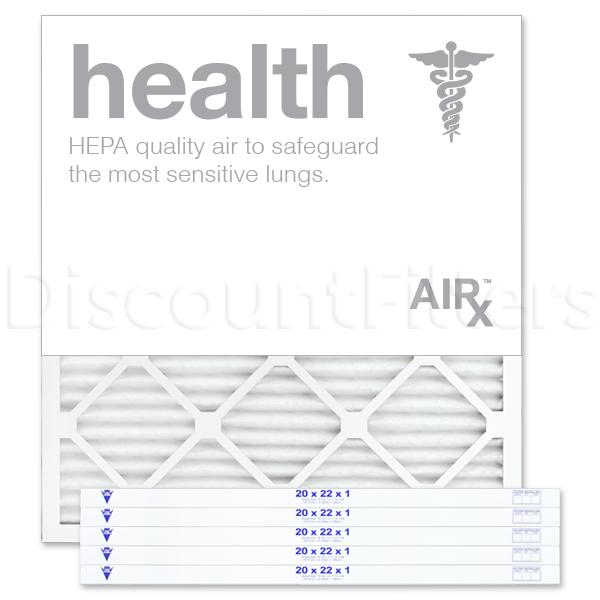 "20"" X 22"" X 1"" MERV 13 Pleated Filter- Healthy Living"