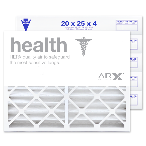 20x25x4 AIRx HEALTH Air Filter - MERV 13