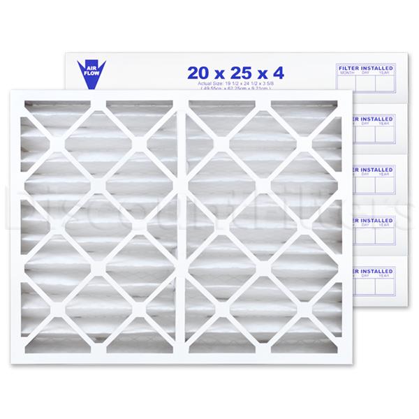 """20"""" X 25"""" X 4"""" MERV 13 Pleated Filter"""