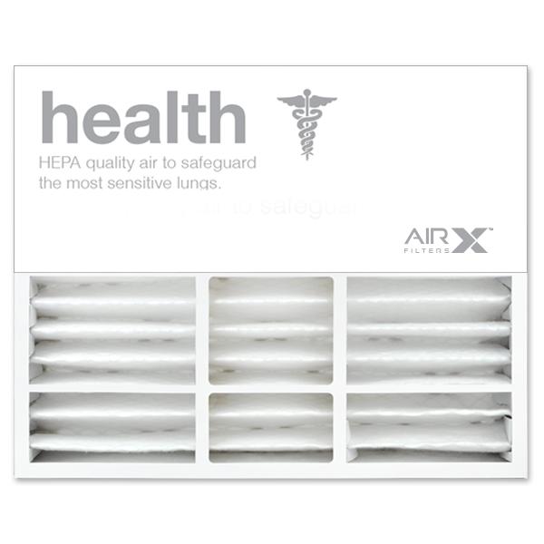 20x25x5 AIRx HEALTH Honeywell FC100A1037 Replacement Air Filter - MERV 13