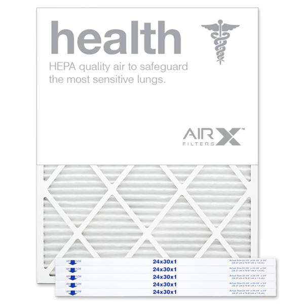 24x30x1 AIRx HEALTH Air Filter - MERV 13
