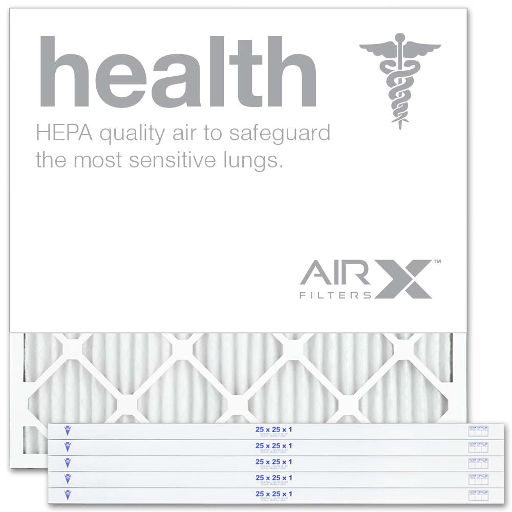25x25x1 AIRx HEALTH Air Filter - MERV 13