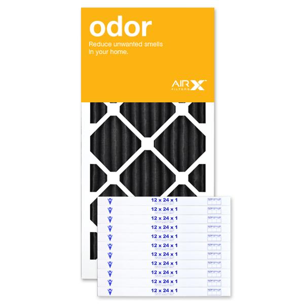 12x24x1 AIRx ODOR Air Filter - Carbon