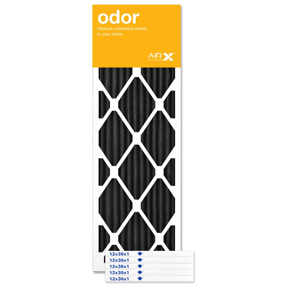 12x36x1 AIRx ODOR Air Filter - CARBON
