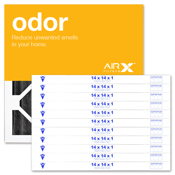 14x14x1 AIRx ODOR Air Filter - Carbon MERV 8