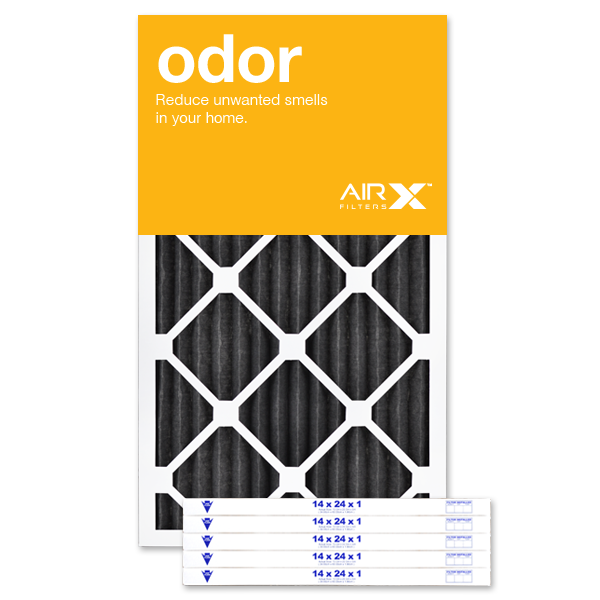 14x24x1 AIRx ODOR Air FIlter - MERV 8 Carbon