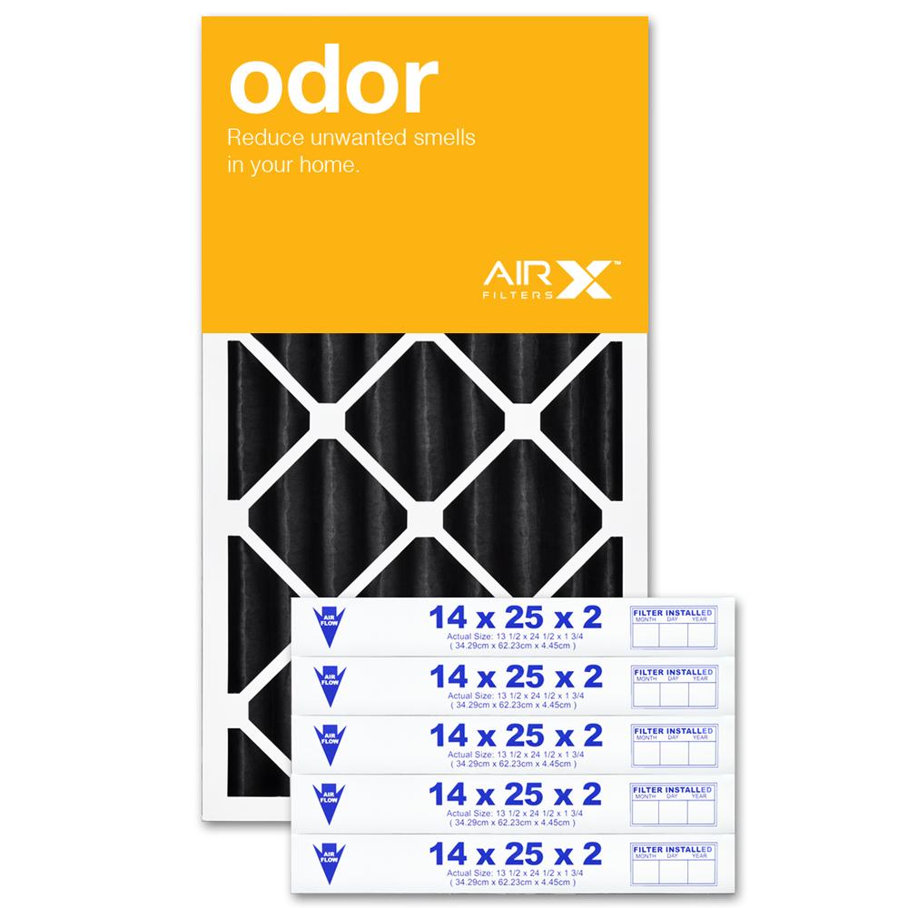 14x25x2 AIRx ODOR Air Filter - CARBON