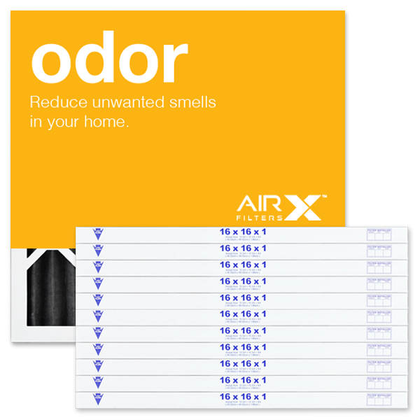 16x16x1 AIRx ODOR Air Filter - MERV 8 - CARBON