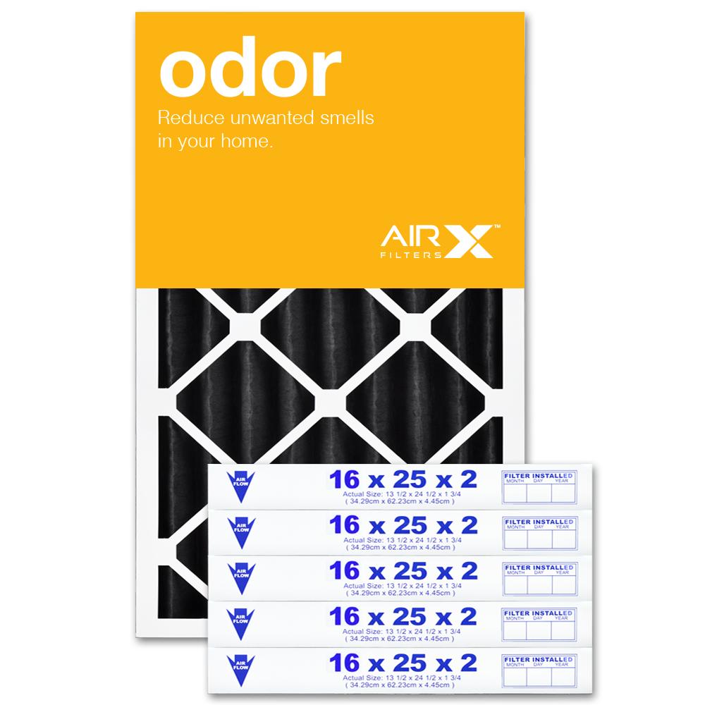 16x25x2 AIRx ODOR Air Filter - CARBON