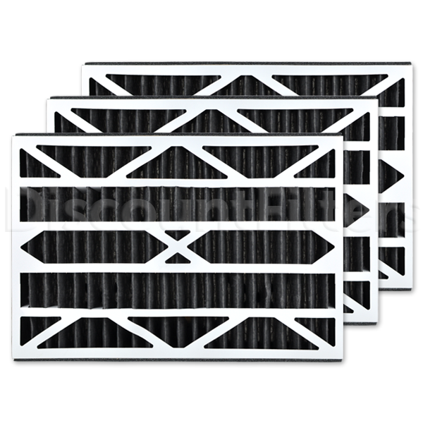 "Replacement Filter for GeneralAire 14164  - 16"" X 25"" X 3"" Odor Reduction"