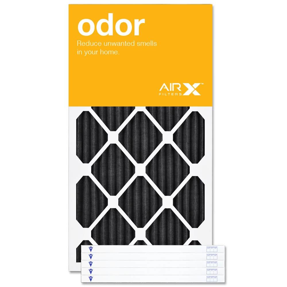 16x36x1 AIRx ODOR Air Filter - MERV 8 CARBON