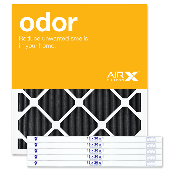 18x20x1 AIRx ODOR Air Filter - Carbon MERV 8