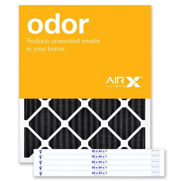 20x24x1 AIRx ODOR Air Filter - Carbon