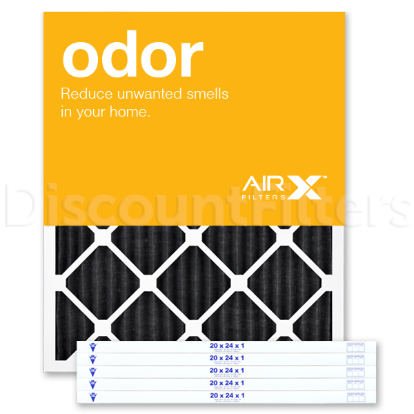 20 X 24 X 1 Odor Reduction Carbon Pleated Filter