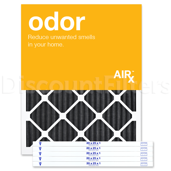 20 X 25 X 1 Odor Reduction Carbon Pleated Filter