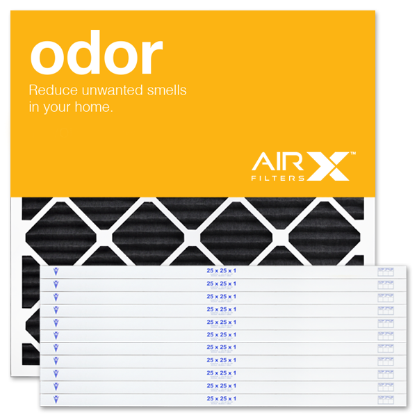 25x25x1 AIRx ODOR Air Filter - Carbon