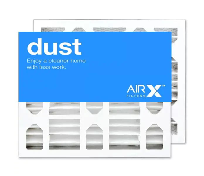 16x20x4 AIRx DUST Air Filter - MERV 8 2-Pack