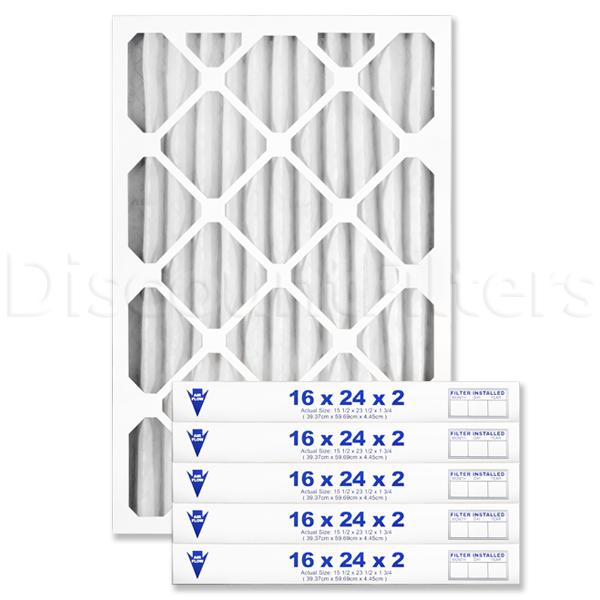 """16"""" X 24"""" X 2"""" MERV 8 Pleated Filter"""
