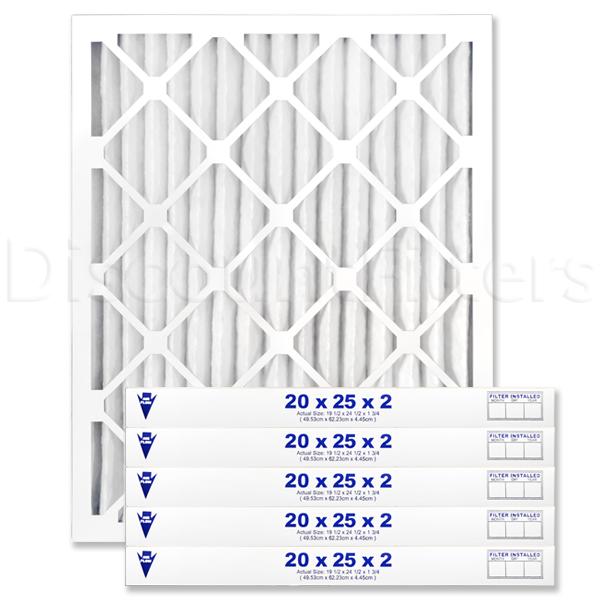 """20"""" X 25"""" X 2"""" MERV 11 Pleated Filter"""