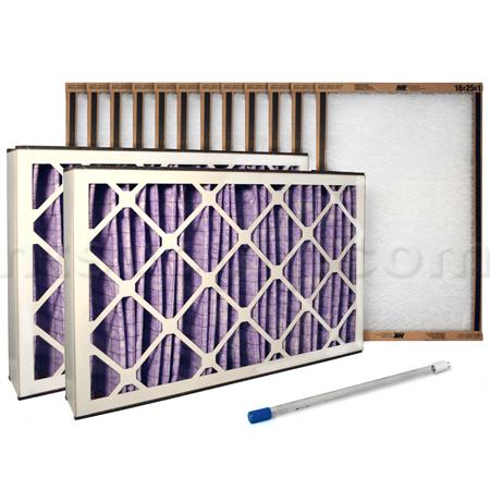Abatement Technologies PAK50-UV Filter/Bulb Yearly Kit