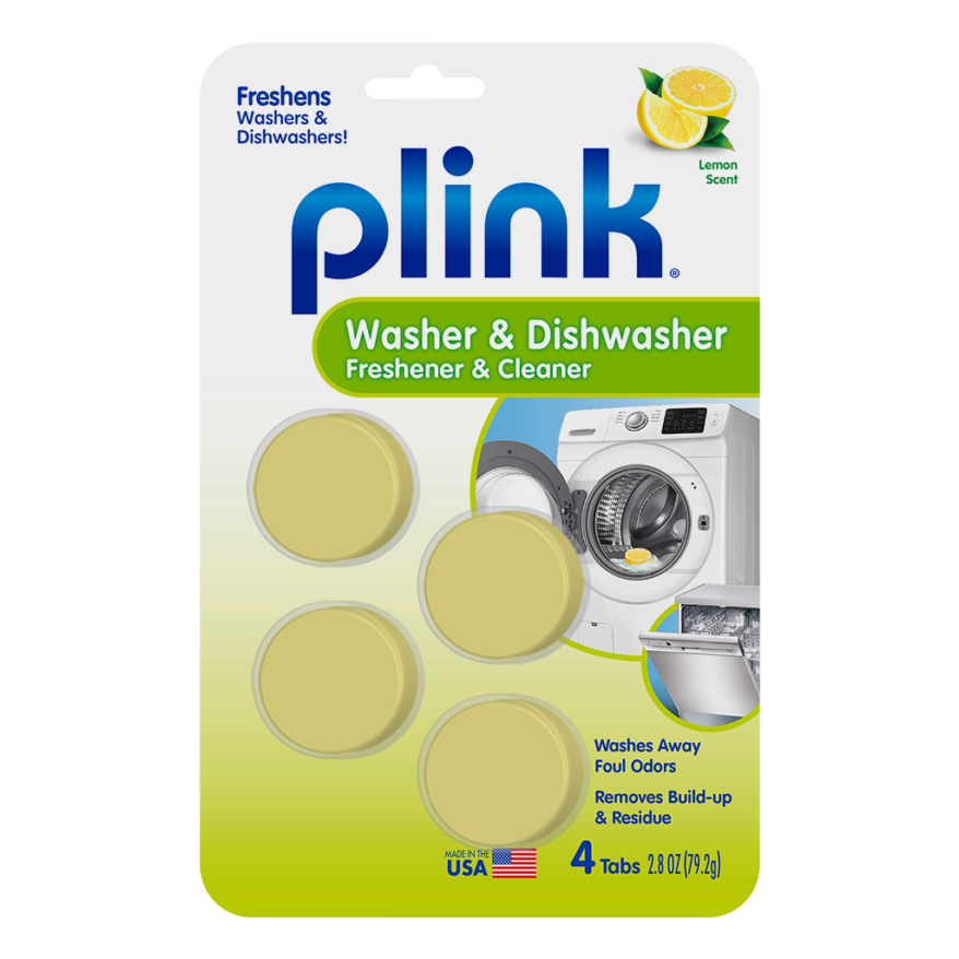 Plink Dishwasher and Washing Machine Cleaner & Freshener