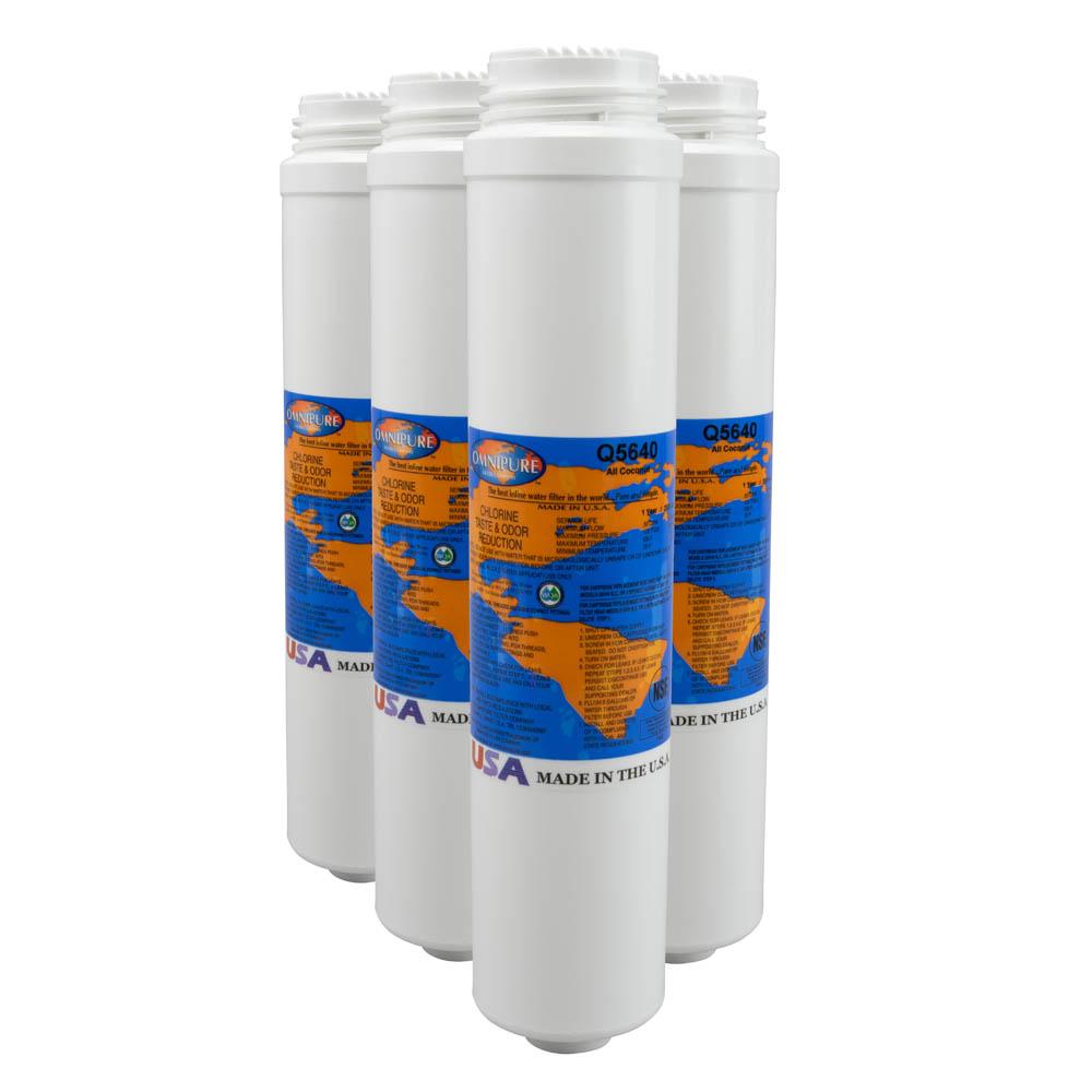 Omnipure Q5640 S Q-Series PuroTwist Coconut Carbon filter