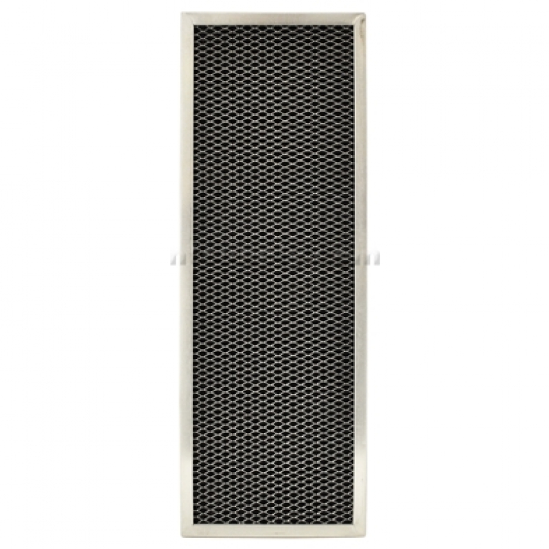 11 3//8 x 17 x 3//8 Aluminum//Carbon Range Hood Filter