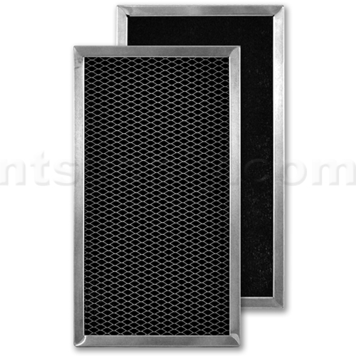 Aluminum / Carbon Range Hood Filter - 6 1/8