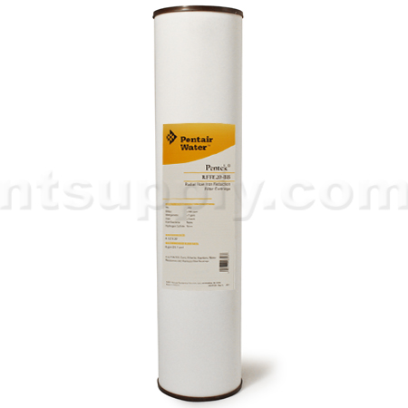 "Pentek RFFE20-BB IRON Reduction Filter - 20"" BB"