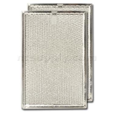 "Aluminum Range Hood Filter - 6 3/8"" x 9 1/2"" x 3/32"""