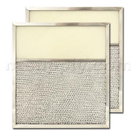 Aluminum Range Hood Filter with Light Lens - 10-13/16
