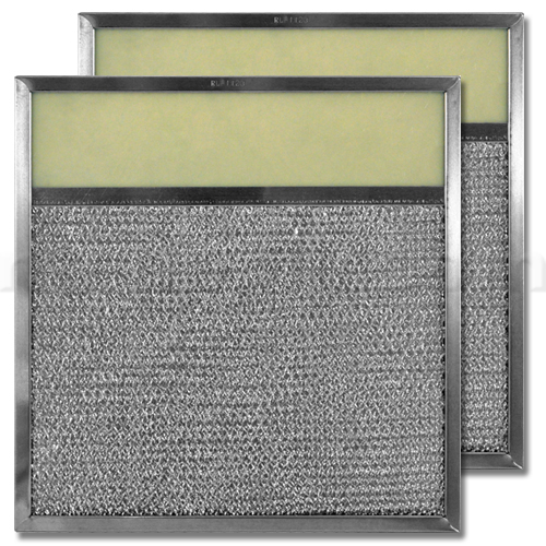 Aluminum Range Hood Filter with Light Lens - 11-3/8