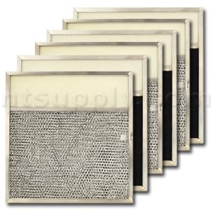 Aluminum/Carbon/Lens Range Hood Filter -11 1/2