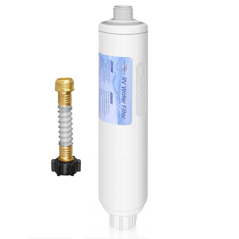 Premium Inline Filter for RVs with Hose Attachment